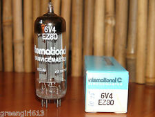 "Vintage IEC Mullard 6V4 EZ81 Stereo Tube Strong ""? B2A1""  Results = 2720/2680"