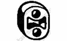 Silenziatore Tampone Paracolpo Bosal 255-036