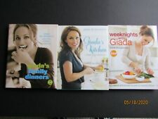 LOT 3 GIADA DE LAURENTIIS COOK BOOKS HARD COVER  NEW