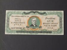 1933 Dietz Gum Presidents Play Bucks - Calvin Coolidge    VERY NICE!!!!!!
