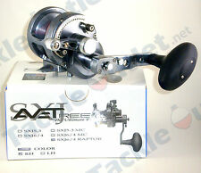 Avet SXJ6/4 MC Raptor Gunmetal 2-Speed Lever Drag Casting Reel!