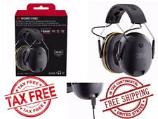 3M WorkTunes Connect Hearing Protector Bluetooth Wireless Hi-Fi SOUND EAR MUFF