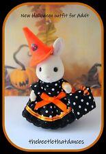 Sylvanian Families Clothes, New Halloween Dress set B For Adult Rabbit,Cat,ETC