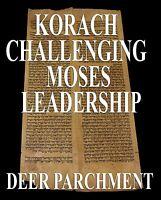 TORAH SCROLL BIBLE VELLUM MANUSCRIPT FRAGMENT 350 YRS MOROCCO Numbers 15:23-17:5