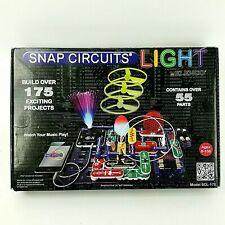 Elenco SCL-175 Snap Circuits Lights Electronics Discovery Kit Complete Set