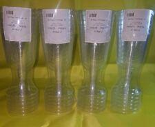 24 pcs Clear Plastic Wine Glasses 6-oz. 6-ct.