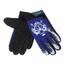 Cycling Gloves Men Kids Full Finger Bicycle Soft Breathable Outdoor Sports
