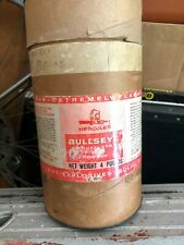 Vintage Hercules Bullseye 4lbs Smokeless Shotgun Empty Powder Can