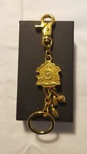 Dsquared2 Authentic Men / Women Metal Gold Colored Keyring