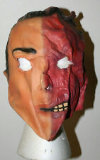 Two-Face DC Comics The Good and The Bad Latex Adult Mask