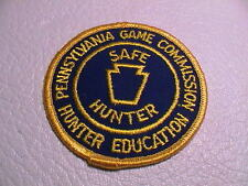 PENNSYLVANIA GAME COMMISSION PA SAFE HUNTER ED BLUE & GOLD HUNTING PATCH NEW