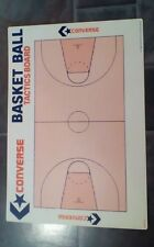 Retro 1980s placa tácticas de baloncesto CONVERSE