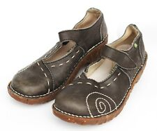 Mary Jane Shoes Naturalista Women's Size 6.5 - 7 Stitching Brown Leather  EUR 37
