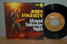 "7"" John Fogerty Almost Saturday Night / Sea Cruise D '75 Vinyl Single läuft top!"