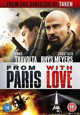 From Paris With Love DVD (John Travolta) Disc Only No Case Or Cover