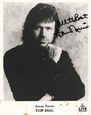 8x10 Aaron Norris vintage autograph (brother of Chuck Norris) Top Doc signed