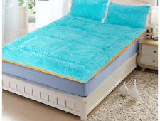 Blue Folding Soft Warm Comfort Home Bedding Single Bed Mattress 90*200Cm .