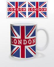 LONDON UNION JACK 11 OZ COFFEE MUG TEA CUP UK ENGLAND NATIONAL FLAG CITY BRITISH