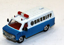Lot of (2) Tomica Tomy Chevrolet Chevy Van Custom Police 1/78 Close to  HO