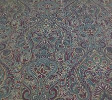 SMD Textiles KLEE Paisley ( Mulberry) VELVET Fabric.Curtains/Upholstery/Crafts