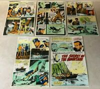 DOUBLE DARE #2 art color guides 5 pgs OCEAN CREATURES 1967 AL WILLIAMSON