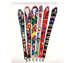 lot cartoon Avengers mix Straps Lanyard ID Badge Holders Mobile Neck Key chain
