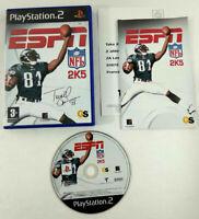 Jeu Playstation 2 PS2 VF  ESPN NFL 2K5  avec notice  Envoi rapide et suivi
