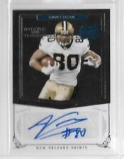 2010 National Treasures Jimmy Graham Auto Rc Serial # to 99