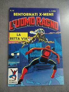 L'UOMO RAGNO n° 13 MAGGIO 1988 - ED. STAR COMICS - OTTIMO - NUOVO
