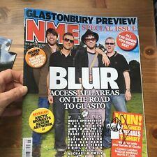 Damon Albarn Blur hand signed autograph NME magazine IP