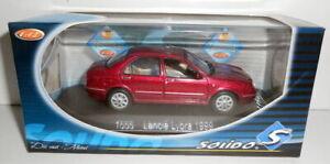 SOLIDO 1/43 - 1555 LANCIA LYBRA 1999 - RED METALLIC