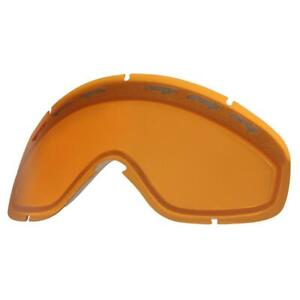 Oakley 02-275 XS O Frame Replacement Goggle Lens Persimmon Kids Youth Snow Ski