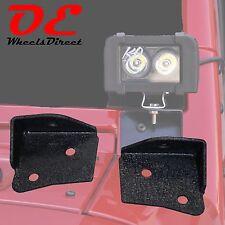 07-16 Jeep Wrangler JK Lower Windshield Light Bracket x2 KO Off Road USA Stock