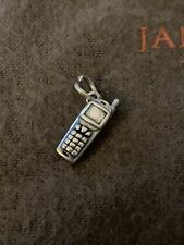 James Avery Cell Phone Charm Sterling Silver