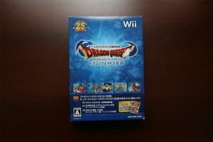 Nintendo Wii Dragon Quest 25th Anniversary I II III Collection JP game US Seller
