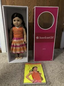 American Girl Jess Doll Girl Of The Year 2006 Rare Retired NIB NRFB GOTY Book