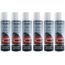 Simoniz Gloss White 500ml Aerosol High Quality Automotive Car