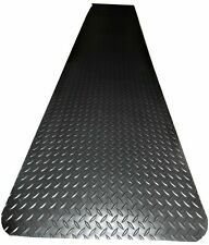 "2' x 10' x 1/2"" Weldmaster Diamond Plate anti-fatigue matting Welding & other in"