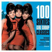 100 Sixties 60s Girl Group Classics 4 CD Set Shangri Las The Crystals Ronettes