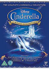 CINDERELLA TRILOGY DVD BOX SET COLLECTION PART 1 2 3 WALT DISNEY ORIGIN