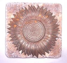 Sunflower  travertine tile mold rapid set cement all mold