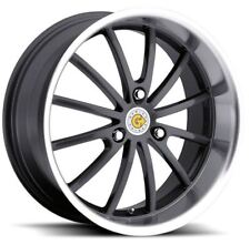 15x5.5 Genius Darwin 3x112 Rims +25 Gunmetal Wheels (Set of 4)