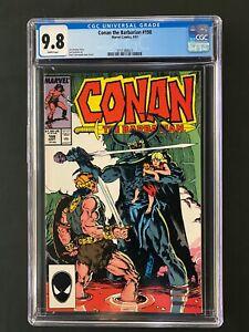 Conan the Barbarian #198 CGC 9.8 (1987)