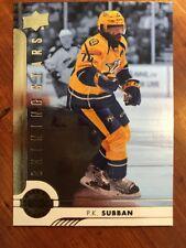 2017-18 UD Hockey Series 1 Shining Stars SSD-6 P.K. Subban