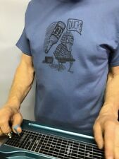 Lap Steel Guitar Playing Duck T Shirt