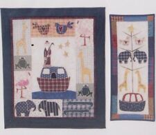 Noah's Ark - pieced & applique wall quilts PATTERN - Little Country Quilts