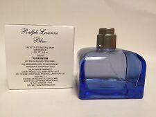 RALPH BLUE Ralph Lauren Women Perfume EDT 4.2oz 125 ml Spray IN WHITE TESTR BOX