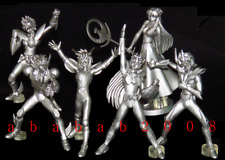 Bandai SAINT SEIYA figure silver color gashapon (full set of 6 figures)