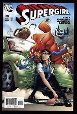 Supergirl (2005) #10 1st Print Signed Ian Churchill No COA Joe Kelly Lanning NM-