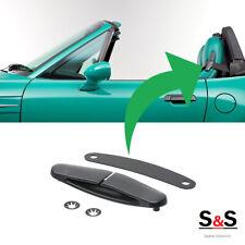 NEW ORIGINAL BMW Z3 ROADSTER SEAT BELT UPPER GUIDE BLACK LEFT N/S 52108410505